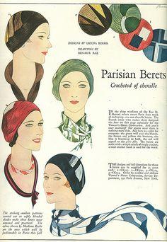 Parisian berets