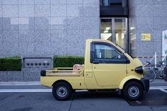1996年から2001年まで製造されていたダイハツ・ミゼットII Daihatsu