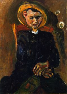 The Athenaeum - Boy with Yellow Hat (Chaim Soutine - )