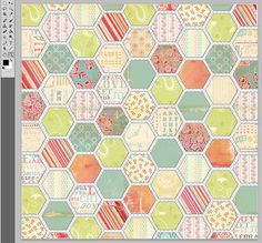 This LetterSized Hexagon Graph Paper Is Spaced With Hexagons An