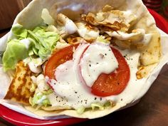 Halloumi-kebab | Kryddburken | Bloglovin' Halloumi, Caprese Salad, A Food, Chicken, Breakfast, Ethnic Recipes, Morning Coffee, Insalata Caprese, Morning Breakfast