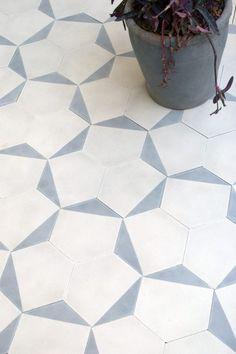 Casa - milk/dove Floor Patterns, Tile Patterns, Geometric Patterns, Floor Design, Tile Design, Pattern Design, Bathroom Flooring, Kitchen Flooring, Kitchen Tiles