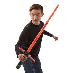 Sabre de Luz Eletrônico Star Wars EP VII Vilão Kylo Ren