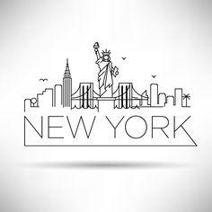 New york movie kare 01 kare movie newyork York New York Drawing, City Drawing, New York Tattoo, Nyc Tattoo, New York Movie, City Sketch, New York Art, New York Logo, Tape Art