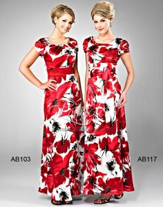 Landa Modest Bridesmaid Dresses - Style AB103