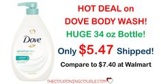HOT DEAL!! Get **CHEAP** Dove Body Wash! HUGE 34oz Pump Bottles for only $5.47 shipped!   Click the link below to get all of the details ► http://www.thecouponingcouple.com/dove-body-wash-huge-34-oz-pump-bottles-6-24-shipped/ #Coupons #Couponing #CouponCommunity  Visit us at http://www.thecouponingcouple.com for more great posts!