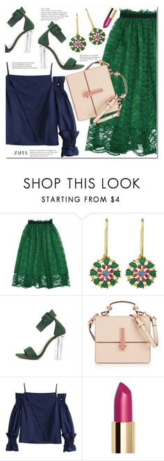 """""""Lace skirt"""" by duma-duma ❤ liked on Polyvore featuring Kendall + Kylie"""