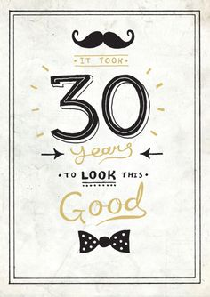 Michael Buxton - 30 Years To Look This Good
