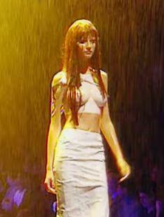 Alexander McQueen spring 1999. See Gisele Bundchen's 15 best runway moments.