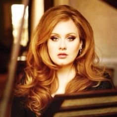 Adele......because she is amazing. And gorgeous.