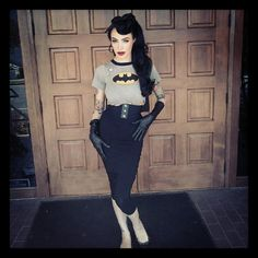 """""""Capes, Masks and the Death Star - The Pinup Guide to being a Nerd""""   by Micheline Pitt #fashion #geek #pinup #nerd #fangirl #retro #vintage"""