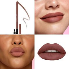 Huda Beauty Lip, Lip Contouring, Lip Pencil, Matte Lips, Septum Ring, Lipstick, Makeup, Jewelry, Make Up