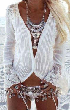 GYPSY | BoHo Fashion - Bikini Follow @ashersocrates for more trending fashion styles.