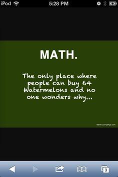 haha i do love Math tho