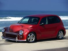 custom pt cruiser | There's a reason I set up the Scraps gallery, this is one of them.