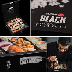 Tener un samurai en la cocina hace la diferencia. Disfrutá el combinado Ohno.  backinblack sushipopblack foodporn samuraienlacocina takehiroohno tentación photooftheday