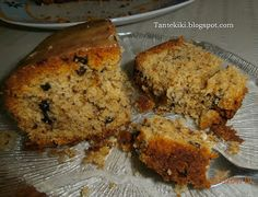 Tante Kiki: Αρωματικό κέικ με ταχίνι, σταφίδες και καρύδια