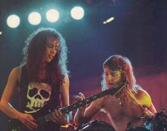 Kirk Hammett and Lars Ulrich