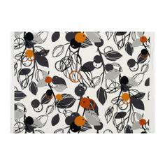 MAJKEN Fabric - white/light gray/orange - IKEA - New family room curtains? Ikea Curtains, Sewing Curtains, Kitchen Curtains, Ikea Fabric, Curtain Fabric, Gray Fabric, Coffee Table Inspiration, Origami, Nursery Fabric