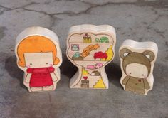 Minnie Bertrand and Their Treehouse by MinnieAndTheMonster on Etsy, $39.00