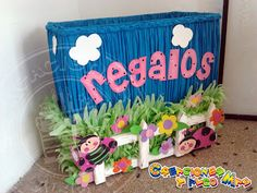 Creaciones y Algo Mas: FIESTA MOTIVO MARIQUITA - PARTY LADYBIRD - FESTA DE JOANINHA Peppa Pig, 2nd Birthday Parties, Birthday Ideas, Ideas Para Fiestas, Party Themes, Party Ideas, My Little Pony, Ladybug, Toy Chest