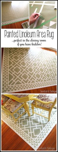 1000 Ideas About Paint Rug On Pinterest Painted Floor