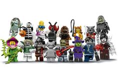 LEGO Monsters Series 14 Minifigures - Complete Set of 16 Minifigures . in Toys & Hobbies, Building Toys, LEGO Lego Halloween, Halloween Treats, Lego Ninjago, Lego Minifigure, Buy Lego, Cool Lego Creations, Spiderman Art, Classic Monsters, Kawaii