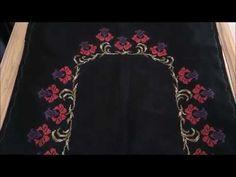 Nergis Çiçeği Etamin Seccade Modeli Tam Boydan Çekim - YouTube Tapestry, Make It Yourself, Youtube, Model, Hanging Tapestry, Tapestries, Scale Model, Needlepoint