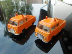 Set Siku V323 Ford Taunus Pritsche orange bespielt gebraucht V Serie Diecast