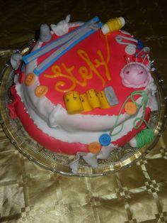 torta per la mia cara amica sarta