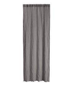 PREMIUM QUALITY. Heavy-drape curtain panels in washed linen with a wide cased heading. Hemming tape included.