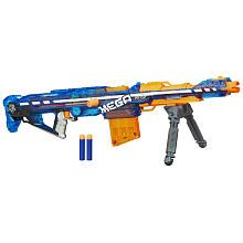Nerf N-Strike Elite Sonic Ice Centurion Launch a long-range assault with this incredible high-caliber Centurion blaster! This N-Strike Elite blaster fires MEGA Nerf Mod, Nerf Snipers, Sonic Ice, Pistola Nerf, Cool Nerf Guns, Nerf Guns For Sale, Steampunk Gun, Big Battle, Toys R Us Canada