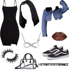 Best Cute Outfits For School Part 16 Teenager Outfits, Baddie Outfits Casual, Swag Outfits For Girls, Cute Swag Outfits, Teenage Girl Outfits, Cute Comfy Outfits, Teen Fashion Outfits, Girly Outfits, Look Fashion