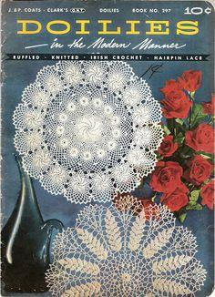 Doilies Book No.297 - Tamara Kailing - Álbuns da web do Picasa...Free online book of vintage doilies!