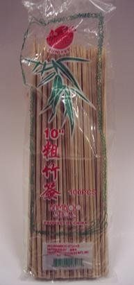 Sun Kee Thick Bamboo Skewkers 10u0027u0027 100 Count By Sun Kee. $1.99.