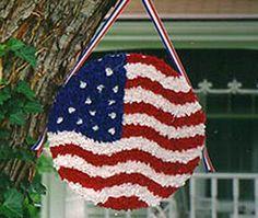 July 4th flag craft