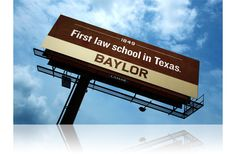 What's the oldest law school in Texas? Baylor!
