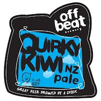 Off Beat Brewery's Quirky Kiwi.