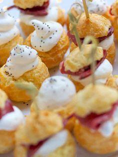 Gougères au magret de canard pour bouchées apéritives | Bikini et GourmandiseBikini et Gourmandise