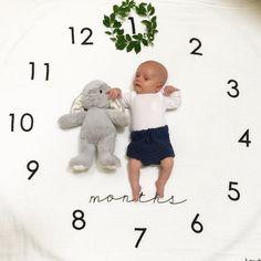 Baby's monthly photos