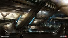 Artworks et concept arts - Mass Effect Universe