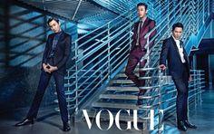Ji Sung, Joo Ji Hoon and Lee Kwang Soo - Vogue Magazine July Issue '14