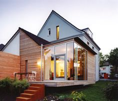 zweistoeckiger holzanbau 666 pixel zuhause pinterest inspiration. Black Bedroom Furniture Sets. Home Design Ideas