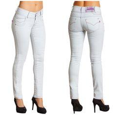Calça jeans claro