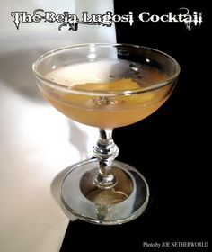 The Bela Lugosi Cocktail Before Bela Lugosi played the immortal Count on the screen, forever identifying himself with vampires and inspiring a Goth anthem, he was a hard-working stage actor...