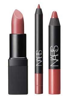 "NARS X Steven Klein Makeup Is As Jaw-Dropping As It Sounds #refinery29 http://www.refinery29.com/2015/10/94679/nars-steven-klein-holiday-makeup-collaboration#slide-21 The ultimate ""your lips, but better"" shades.NARS A Woman's Face Nude Lip Set, $49, available October 5 at NARS...."