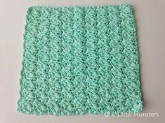 Favorite Crochet Ideas 5 Little Monsters: My Favorite Dishcloths: Sedge Stitch Dishcloth - Free pattern for a crochet dishcloth made using sedge stitch. Creates a pretty textured dishcloth or washcloth. Crochet Potholders, Crochet Dishcloths, Crochet Yarn, Easy Crochet, Crochet Ideas, Crochet Projects, Washcloth Crochet, Irish Crochet, Crochet Angels