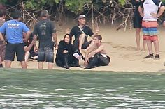 Behind the scenes. Catching fire