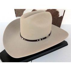 43679813fd33e Resistol Cowboy Hat 5X Beaver Fur Chamois Double Hock George Strait