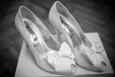 Andreea's Shoes from her Wedding Day. Credit: Silviu Pal - www.facebook.com/silviupalphotography